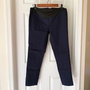 LOFT Pants - Navy LOFT maternity ankle pants (size:M)